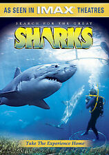 IMAX - Search for the Great Sharks (DVD, 2005)  Nature/Wildlife  Educational NEW