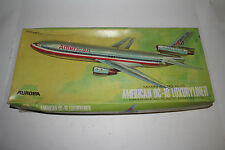 AURORA MCDONNELL DOUGLAS AMERICAN DC-10 LUXURY LINER, 1:144 SCALE, BOXED