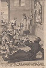 S.Profeta Elia, XVIII sec.  acquaforte