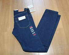 """BNWT LEVIS MADE & CRAFTED NEEDLE NARROW """"RINSE"""" JEANS 30W x 34L , Made in USA."""