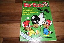 ROLF KAUKA`s:  FIX und FOXI  #  35 / 1981 -- mit Sammelschnipsel
