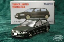 [TOMICA LIMITED VINTAGE NEO LV-N48e 1/64] HONDA CIVIC SiR-2 (Green)