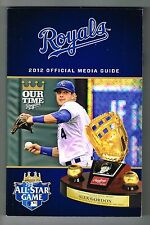 2012 Kansas City Royals MLB Baseball Media GUIDE