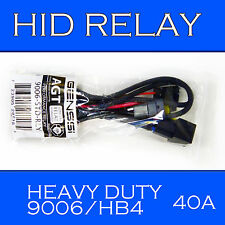 9006 9005 Type HID Relay Wiring Harness for HID Kit Installation Xenon Battery