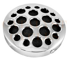 """5.5"""" ROUND AIR CLEANER FOR HARLEY AIR CLEANER 5-1/2"""" DRILLED DISC AIR CLEANER"""
