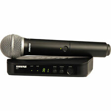 Shure BLX24/PG58 Professional Handheld Wireless Microphone System w/ PG58 mic