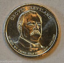 2012-P Grover Cleveland (1st Term) Uncirculated Presidential Dollar - Single