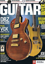 BRIAN MAY / CHIC / JOE SATRIANI / DAVE DAVIES Guitar Buyer no. 110 Oct 2010