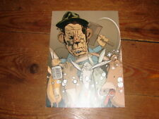 TOM WAITS BY QUINTON WINTER!!!!!!!!!!!!!!UK POSTAL CARD