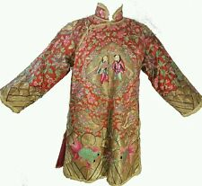 Chinese Silk cloth Embroidery Robe Woman's