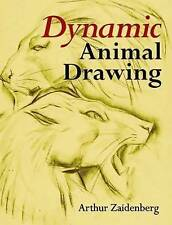 Dynamic Animal Drawing by Arthur Zaidenberg (Paperback) NEW ART BOOK
