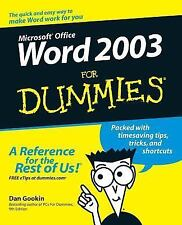 Word 2003 for Dummies-ExLibrary