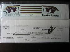 1/144 RUNWAY 30 DECAL BOEING 727 ALASKA ONIONS DOMES TAIL DECALCOMANIE