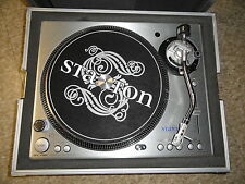 Stanton ST-100 Turntable with Cartridge and Behringer case