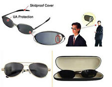 High Clear Rearview Anti-tracking Spy Behind Mirror Glasses Sunglasses W/Box