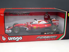 New 1/18 Bburago Ferrari SF16-H 2016 F1 Formula One race Car Model N.7 Kimi Rai.