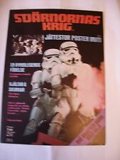 Star Wars Poster Magazine  Swedish Edition