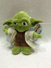 STAR WARS YODA 18 CM PELUCHE PLUSH GUERRE STELLARI SUPER SOFT DA 0 ANNI IN SU