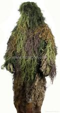 Burlap Ghillie Suit Woodland Camo, Forest Color, Fit Large & X-Large Size