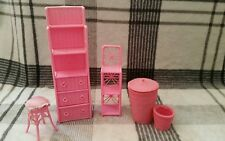 Barbie living room furniture vintage rose paquet de 1990s vintage