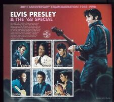 ELVIS PRESLEY 30th Anniversary Commemoration Sheet #2044 MNH - Ghana E15