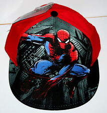Marvel Comics The Amazing Spider-man Spiderman Boys Cap Hat New Tags NOS 2012