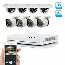 Zmodo 8CH Smart PoE Surveillance Camera System 4 x720P Outdoor + 4 x720P Indoor