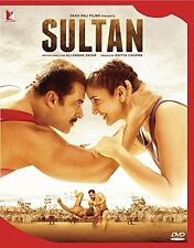 SULTAN DVD *SALMAN KHAN - OFFICIAL 2 DISC BOLLYWOOD DVD - FREE POST