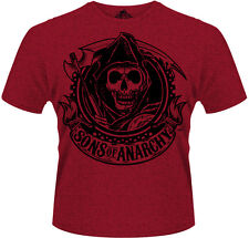 Sons Of Anarchy - Reaper Banner Red T-Shirt Homme / Man - Taille / Size S