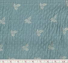 Fabricut Middlesbourgh Lagoon Blue Floral Woven Home Decor Fabric BTY