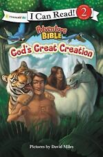 I Can Read! / Adventure Bible: God's Great Creation by Zondervan Staff (2014,...