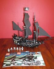 LEGO 4184 THE BLACK PEARL PIRATES OF THE CARIBBEAN 100% COMPLETE Davy Jones