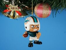 Decoration Xmas Ornament Party Decor Football NFL Miami Dolphins Running Back