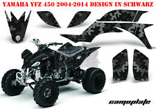 AMR RACING DEKOR GRAPHIC KIT ATV YAMAHA YFZ 450 04-14,YFZ 450R 09-16 CAMOPLATE B