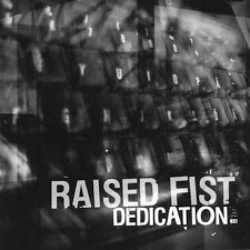 DAMAGED ARTWORK CD Raised Fist: Dedication