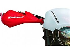 POLISPORT SHARP HANDGUARDS HAND GUARDS MOTOCROSS ENDURO - RED CRF