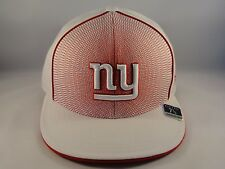 NFL New York Giants Reebok Size 7 3/8 Fitted Hat Cap White Red