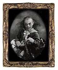 HALLOWEEN HOLOGRAPHIC PORTRAIT PRETTY POSSESSED  PROP DECORATION HAUNTED HOUSE