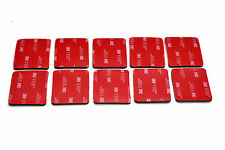 10x 3M VHB Rplacement Adhesive Sticker for GoPro Curved Surface Mount