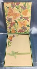 Vintage Box of Montag's Stationery: Butterfly Kisses Design. 2100