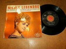 NICOLE LEGENDRE  - EP FRENCH MERCURY 152003  / LISTEN - TEEN FRENCH POPCORN