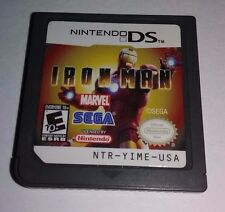 FREE SHIPPING! Iron Man Nintendo Ds Game Only Nds 3ds Dsi Games Marvel Lite 2ds