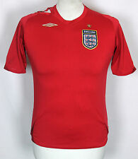 VINTAGE ENGLAND AWAY FOOTBALL SHIRT 06-08 UMBRO LARGE BOYS