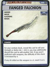 Pathfinder Adventure Card Game - 1x Fanged Falchion  - Sins of the Saviors