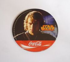STAR WARS Promo Coaster REVENGE of The SITH Thailand ANAKIN SKYWALKER Coca Cola