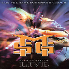 Back To Attack: Live by Michael Schenker (CD, Jun-2003, Zoom Club)