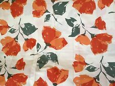 "Crate & and Barrel POPPY Linen TABLECLOTH-approx. 58""x 90"" NWOT- Gorgeous!"