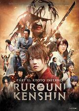 Rurouni Kenshin Part II: Kyoto Inferno (DVD, 2016)