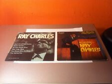 """RAY CHARLES """"L'AUTHENTIQUE & EN PUBLIC"""" 45 LP LOT MADE IN FRANCE RARE 1959"""