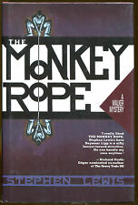 The Monkey Rope by Stephen Lewis-1st Edition/DJ-1990-Publisher Review Copy